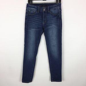 KanCan Jeans Women's Size 28 Skinny Dark Wash Stre